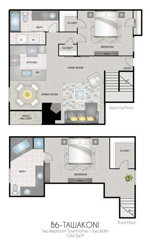 B6: Tawakoni floor plan