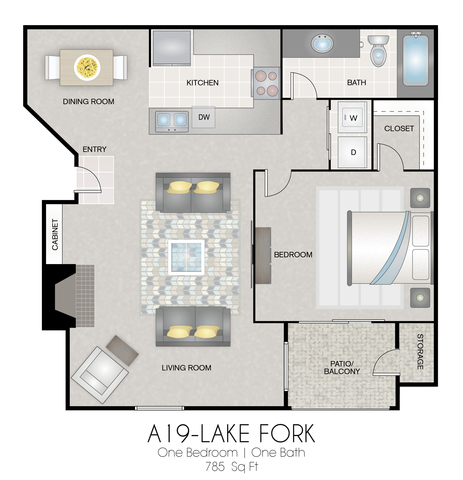 A19: Lake Fork floor plan
