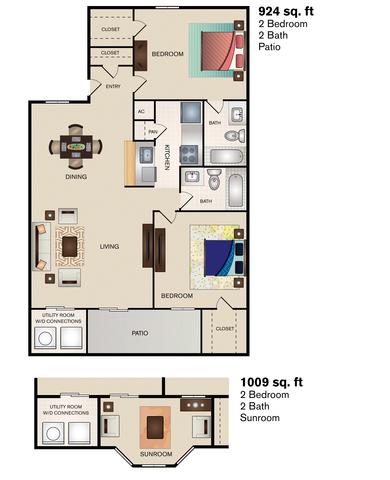 Joshua Creek floor plan