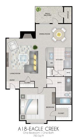 A18: Eagle Creek floor plan