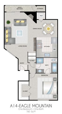 A14: Eagle Mountain floor plan