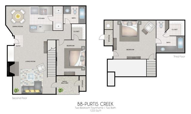 B8: Purtis Creek floor plan