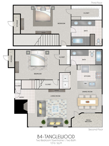 B4: Tanglewood floor plan