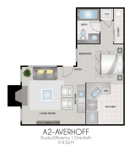 A2: Averhoff floor plan