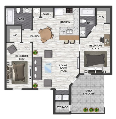 Cleveland floor plan