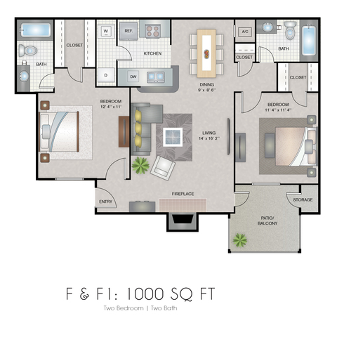 Gemini floor plan