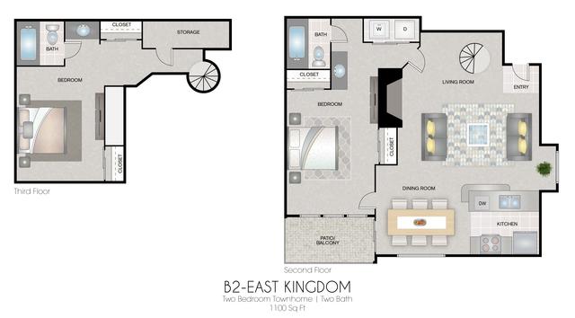 B2: East Kingdom floor plan