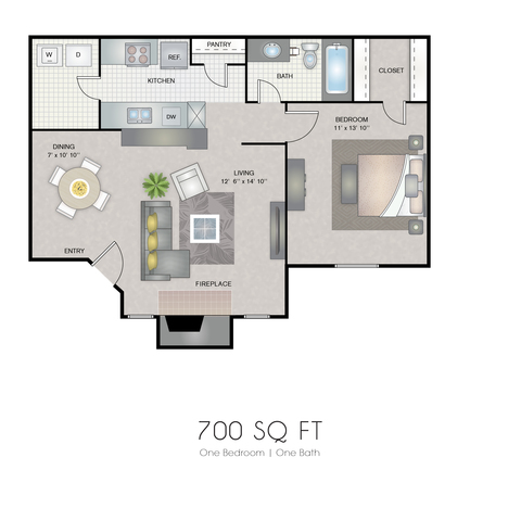 Dawn floor plan