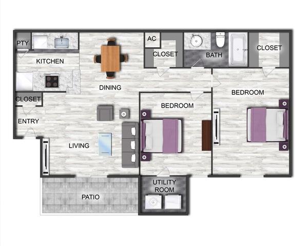 Fox Fire floor plan