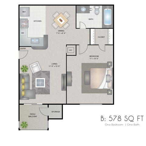 Bella floor plan