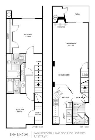 Regal floor plan