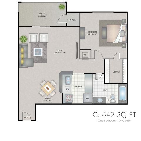 Celeste floor plan