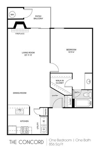Concord floor plan