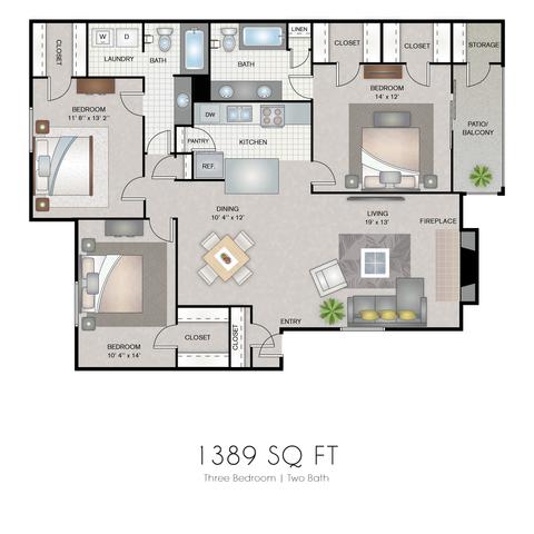 Iris floor plan