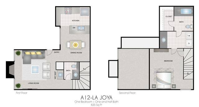 A12: La Joya floor plan