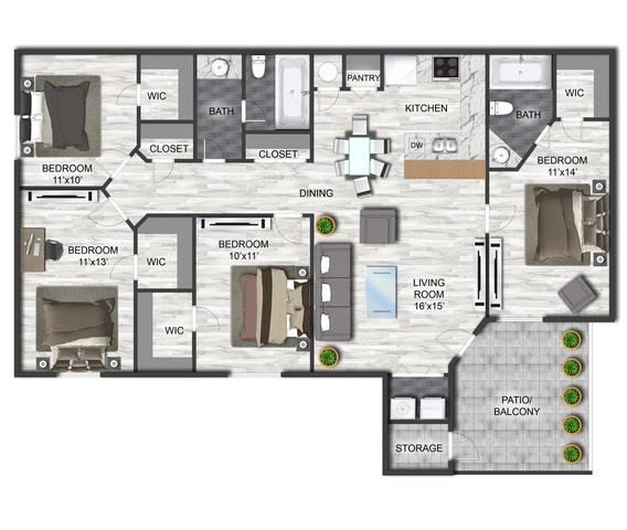 Ellwood floor plan