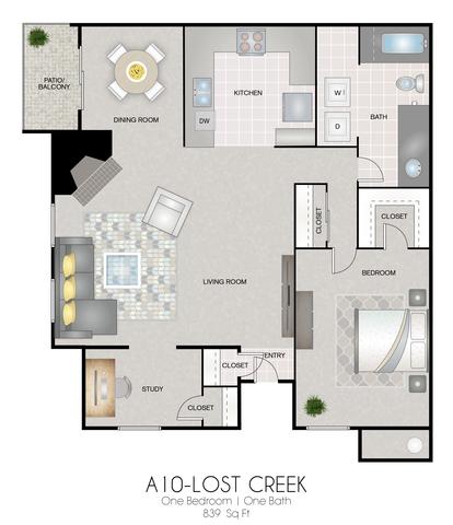 A10: Lost Creek floor plan