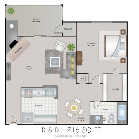 Electra floor plan