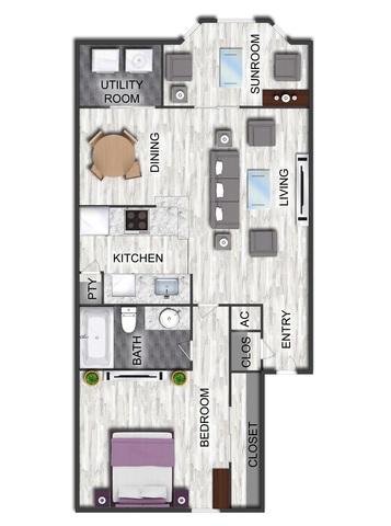 Edison House floor plan