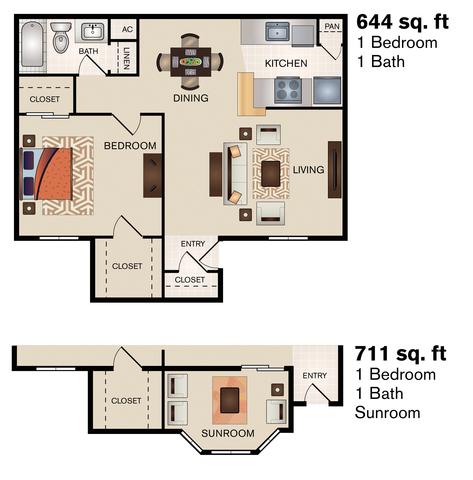 Barons Creek floor plan